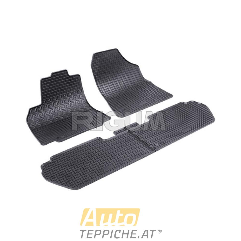 Gummimatten Fußmatten für Citroen Berlingo 2 II 2008-2018 Original Qualität