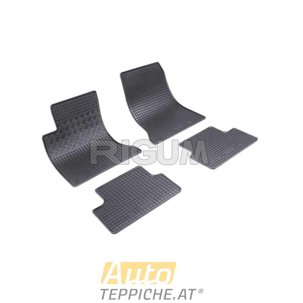 Gummi-Fußmatten für Mercedes CLA [C117] (2014-)