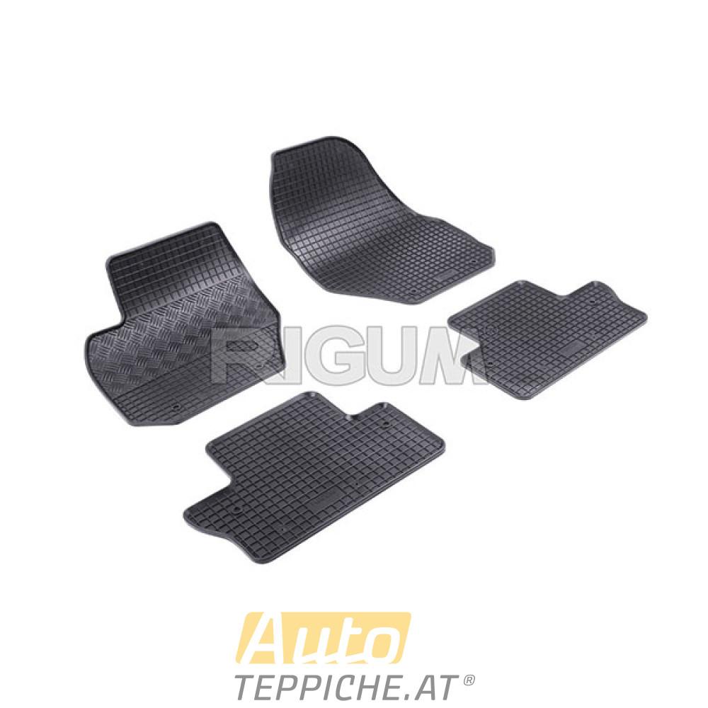 Gummi-Fußmatten für Volvo S60 II (2011-2018)