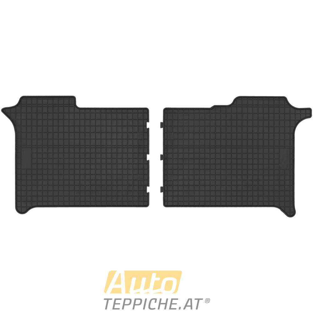 Gummi-Fußmatten für Volkswagen Crafter (zweite Reihe) (2017-)